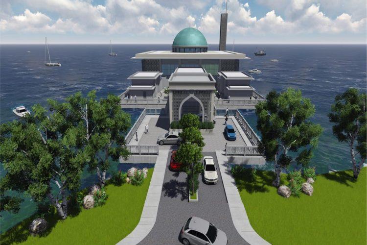 Masjid Terapung Yan, Kedah